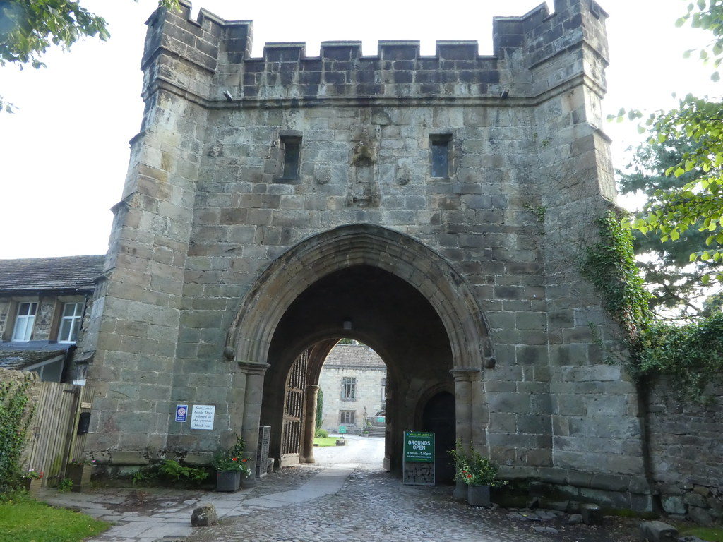 The Gatehouse at Whalley Abbey