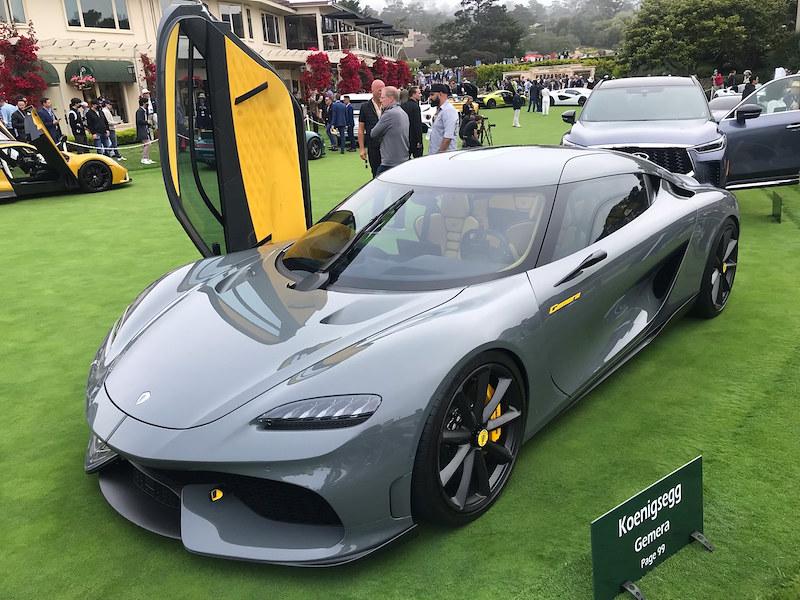 Koenigsegg's MegaCar Experience at Monterey Car Week 2021