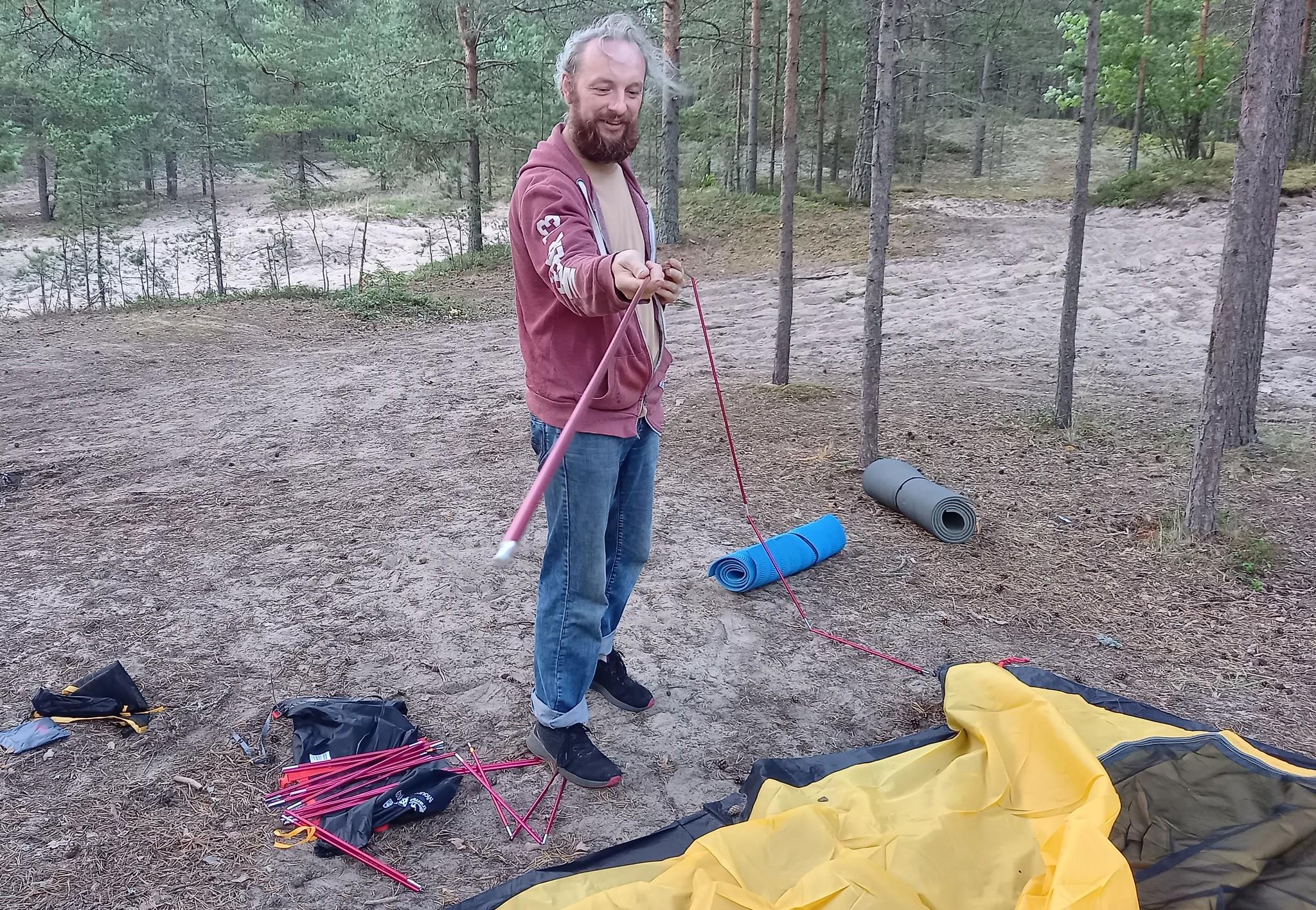 Палатка 4