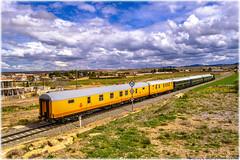 Tren Azul en Cariñena