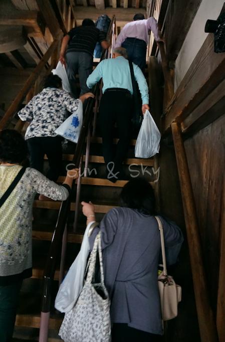 himeji-jo-climb