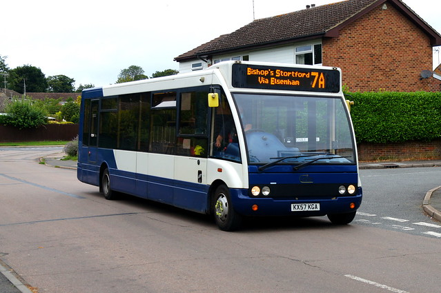 A New Life: Trustybus (ex Stagecoach Midlands 47508) Optare Solo M880 KX57KGA Croasdaile Road Stansted Mountfitchet 21/08/21