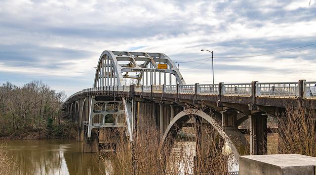 The Edmund Pettus Bridge in Selma, Alabama.