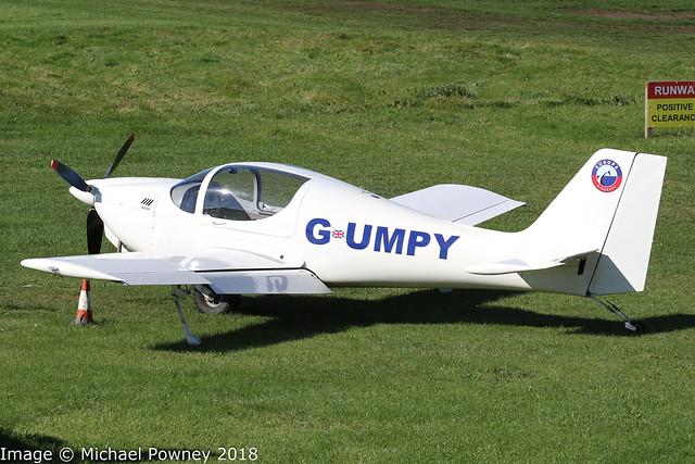 G-UMPY - 2012 build Europa Aviation Europa, visiting Barton