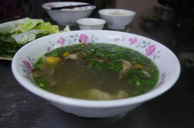 Vietnamese Chicken Noodle Soup (Miến Gà)