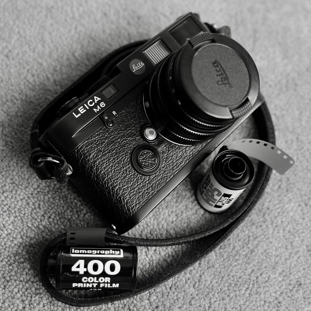 Today is mainly going to be a Lomo 400 day.