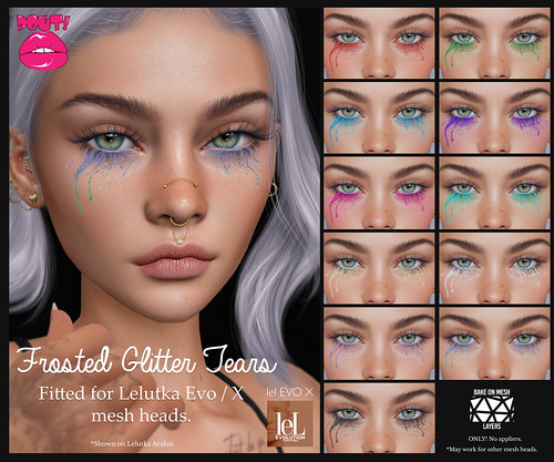 [POUT!] Frosted Glitter Tears GROUP GIFT!