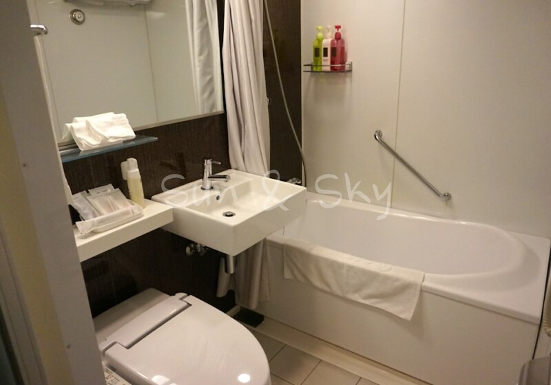 JAL yokohama bath