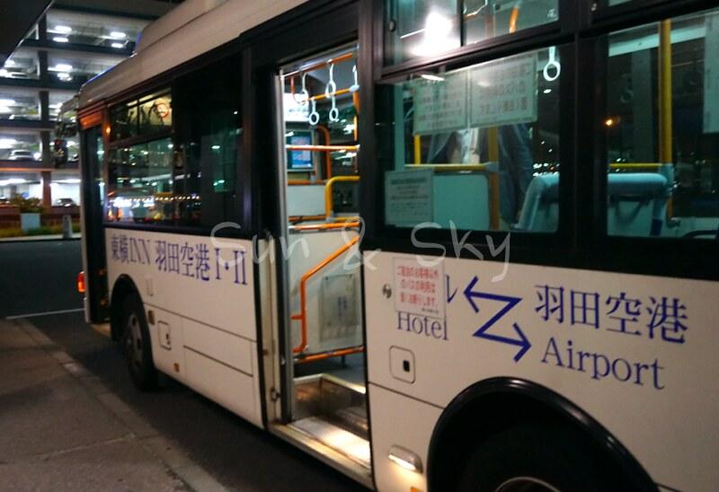 Toyoko Inn Haneda bus