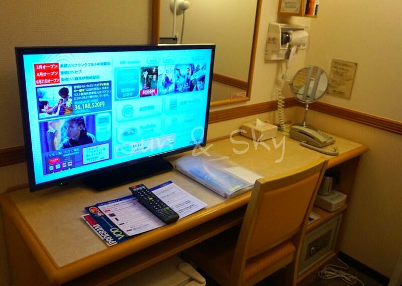 Toyoko Inn Haneda room