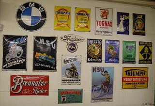 BMW, Triumph, Tornax, Opel, UT, NSU