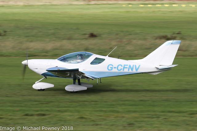 G-CFNV - 2009 build CZAW Sportcruiser, departing from Barton