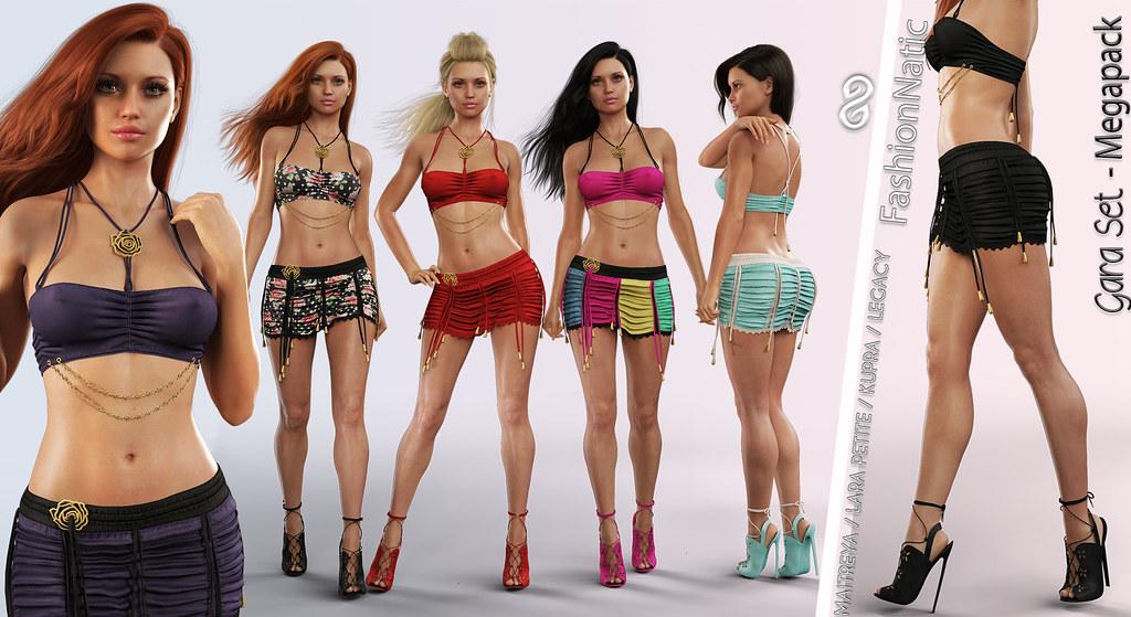 FashionNatic Gara Set – Megapack blogotex