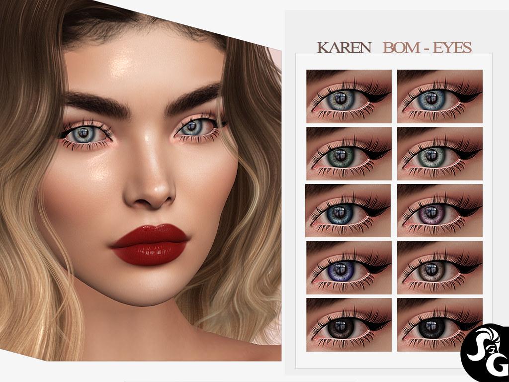 Karen Bom Eyes