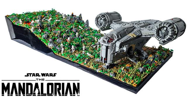 LEGO STAR WARS THE MANDALORIAN - The tragedy on Tython