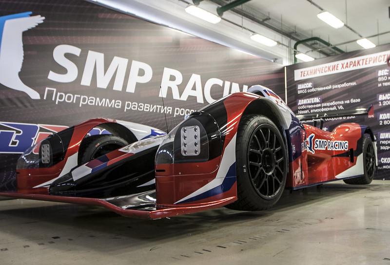 SMP BR03 готовится к первому публичному заезду на Moscow Raceway