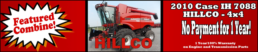 Used Case IH Combine For Sale