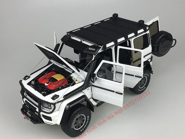 AlmostReal 1 18 Brabus 550 Adventure Mercedes G 4x4 mo hinh o to xe hoi diecast model car (0)