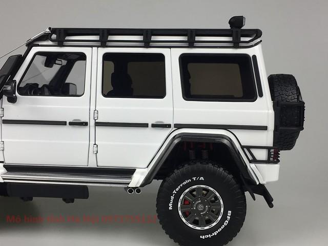 AlmostReal 1 18 Brabus 550 Adventure Mercedes G 4x4 mo hinh o to xe hoi diecast model car (6)