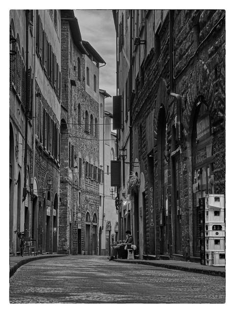 Street Florence