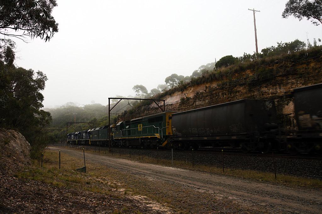 Empty coal