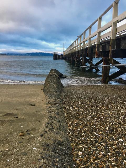 Days Bay Beach And Wharf