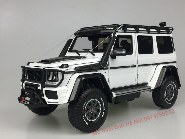 AlmostReal 1 18 Brabus 550 Adventure Mercedes G 4x4 mo hinh o to xe hoi diecast model car