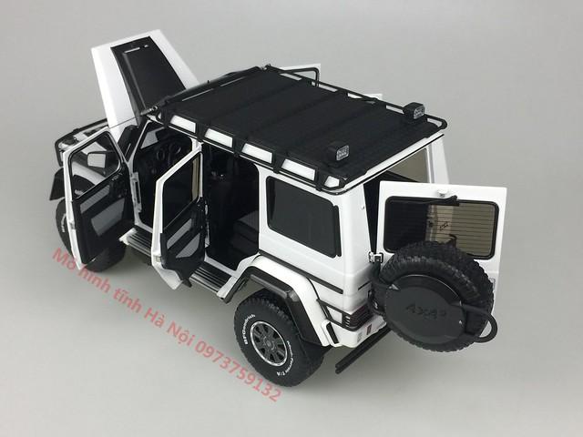 AlmostReal 1 18 Brabus 550 Adventure Mercedes G 4x4 mo hinh o to xe hoi diecast model car (13)