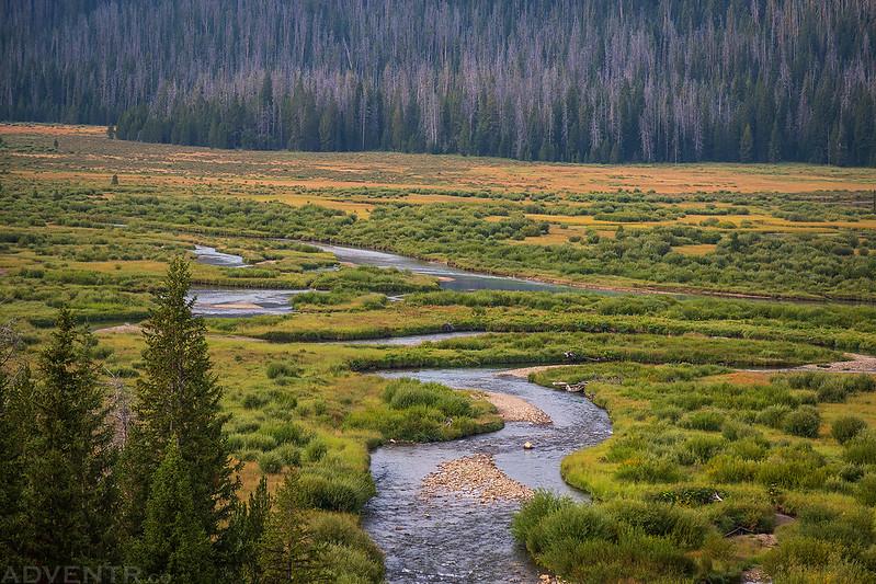 Clear Creek Meets Green River
