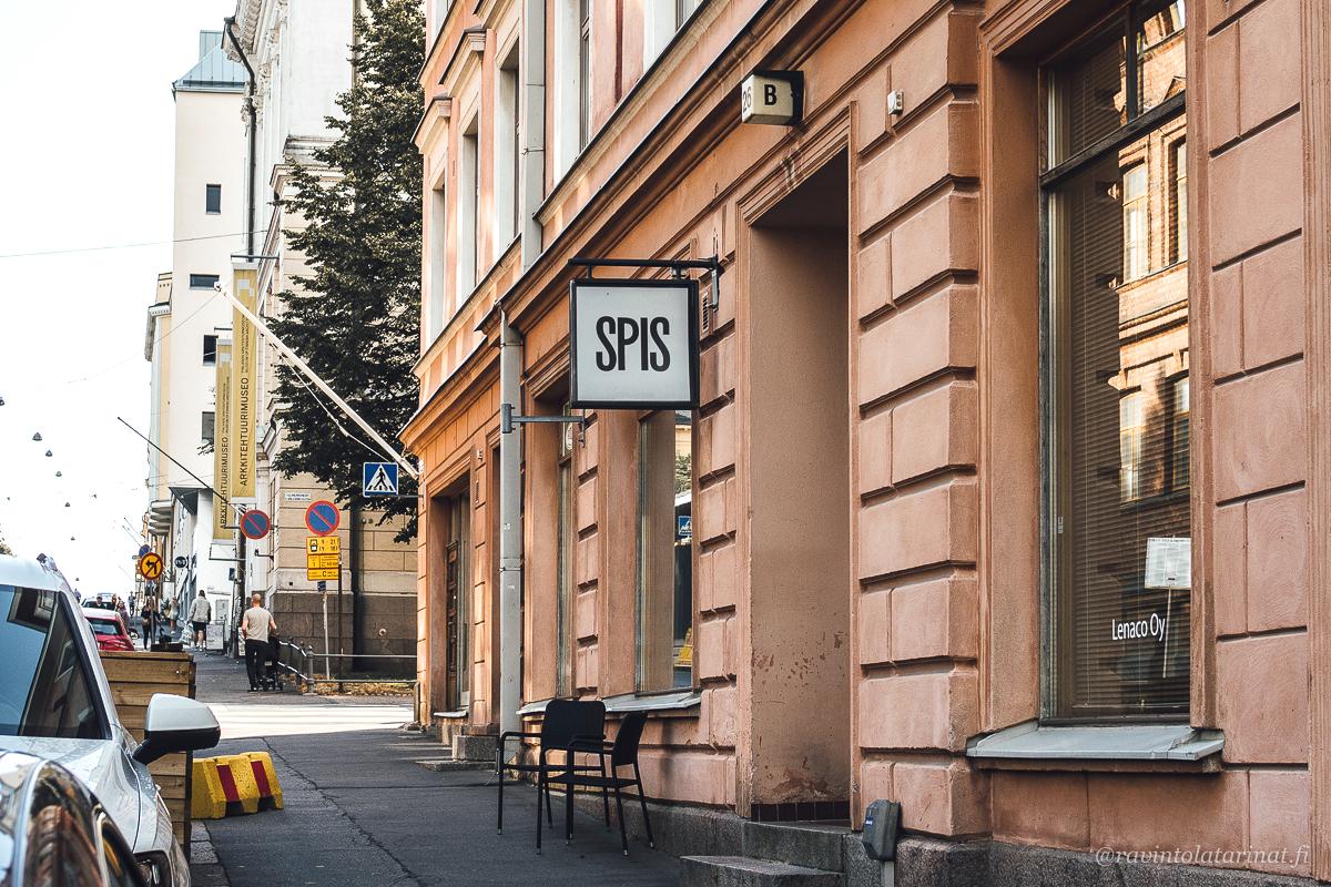 Ravintola Spis, Kasarmikatu 26, Helsinki