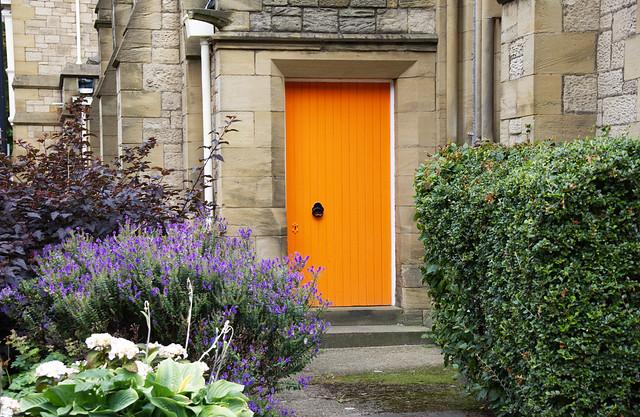 The orange door  IMG_6749