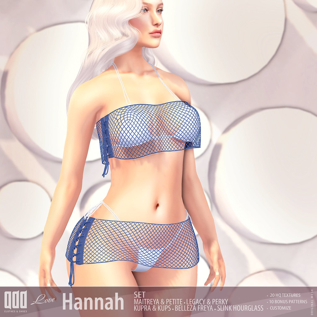 New release – [ADD] Hannah Set