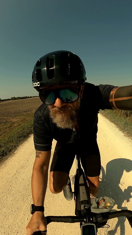 Me and my bike- self portrait with goPro9
