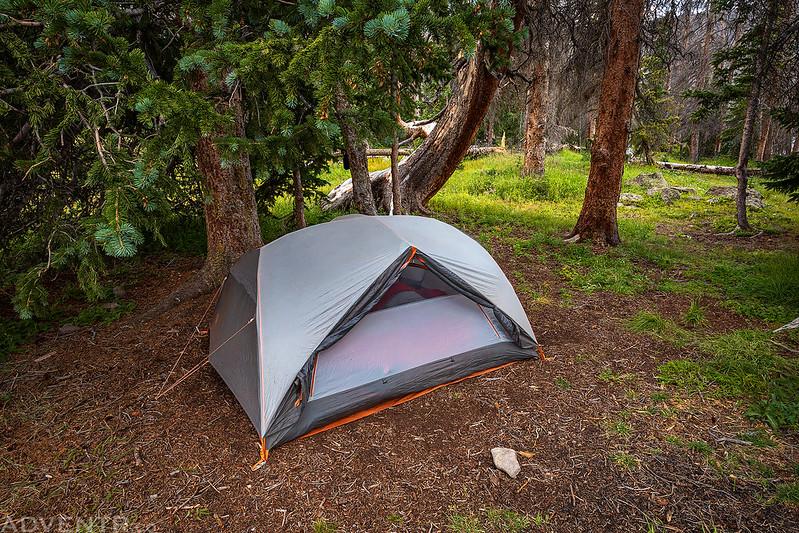 Powderhorn Lakes Campsite