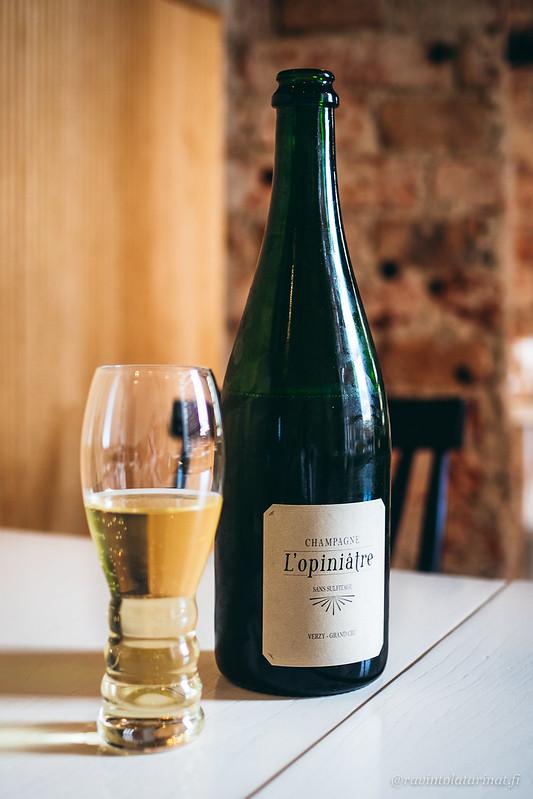 Mouzon-Leroux - L'Opiniatre Blanc de Blancs Verzy Grand Cru samppanja | Spis Helsinki