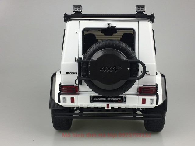 AlmostReal 1 18 Brabus 550 Adventure Mercedes G 4x4 mo hinh o to xe hoi diecast model car (9)