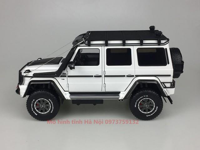 AlmostReal 1 18 Brabus 550 Adventure Mercedes G 4x4 mo hinh o to xe hoi diecast model car (4)