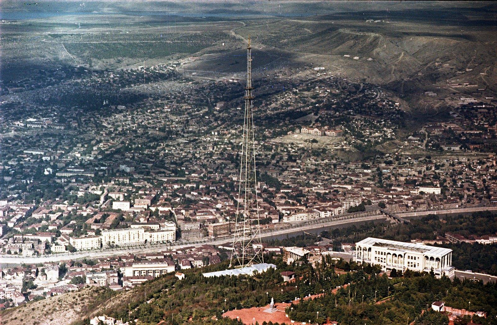 Тбилиси. Съёмка из вертолета. сентябрь-октябрь
