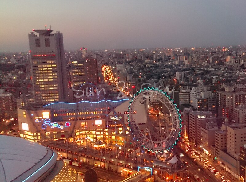 tokyo done hotel view