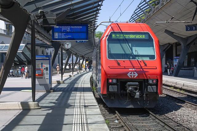 SBB 450 062 Zürich Stadelhofen