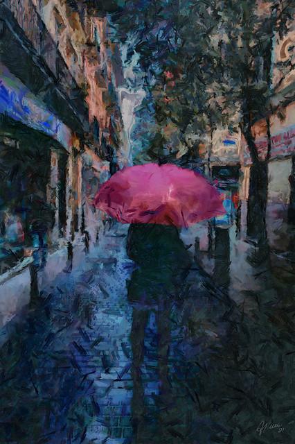 a rainy night ahead