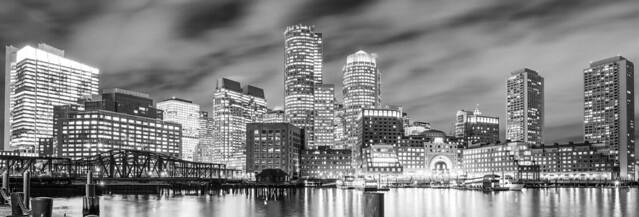 Boston Waterfront November 2019