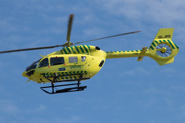 Babcock Scandinavian AirAmbulance Airbus Helicopters H145 SE-JRE 210821 BMA