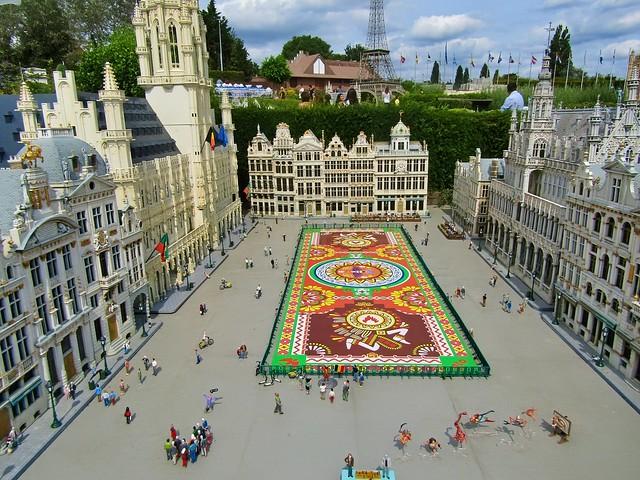 Mini Europe in Brussels, Belgium