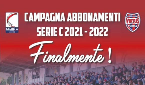 CAMPAGNA ABBONAMENTI VIRTUS VERONA 2021/2022