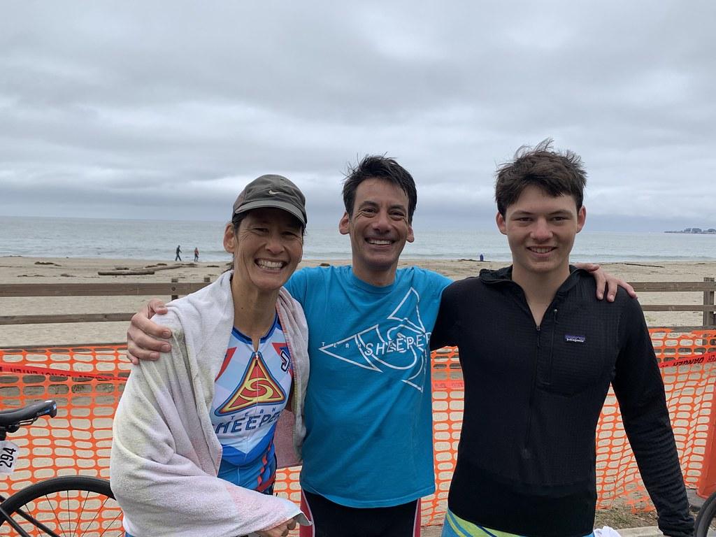 Triathlon 2021 with Sinda and Finn