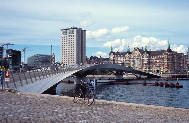 Bicycle and pedestrian bridge, Copenhagen