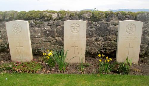 Murie Cemetery, War Graves