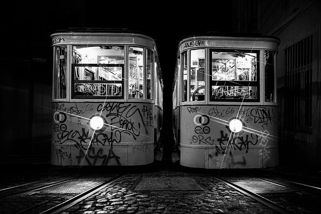 Trolley in Lisbon V