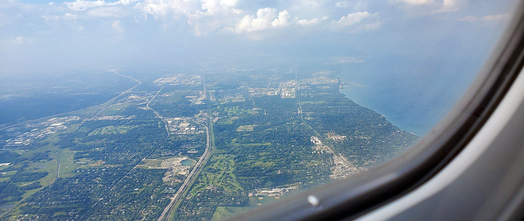 Flying into Chicago O'Hare International Airport